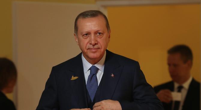 Турският президент Реджеп Тайип Ердоган заяви, че не вижда разлика