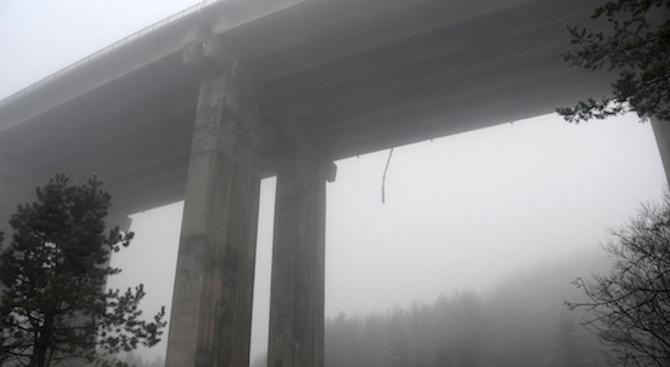 """35-годишна жена се хвърли от мост на """"Хемус"""""""