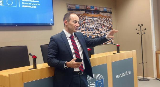 Днес сутринта на председателски съвет в Европарламента Групата на Алианса