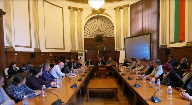 В Министерство на земеделието, храните и горите се проведе среща