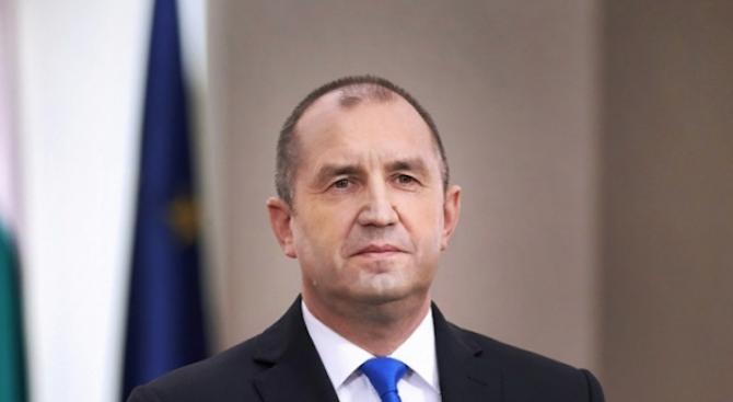 Президентът Румен Радев ще се срещне с новоизбрания председател на