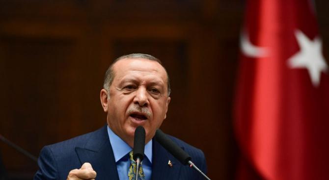 Турският президент РеджепЕрдоган заяви днес, че Турция ще стане световен