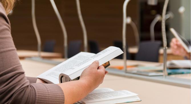 Писменият изпит за кандидат-студенти по журналистика от предварителната сесия в