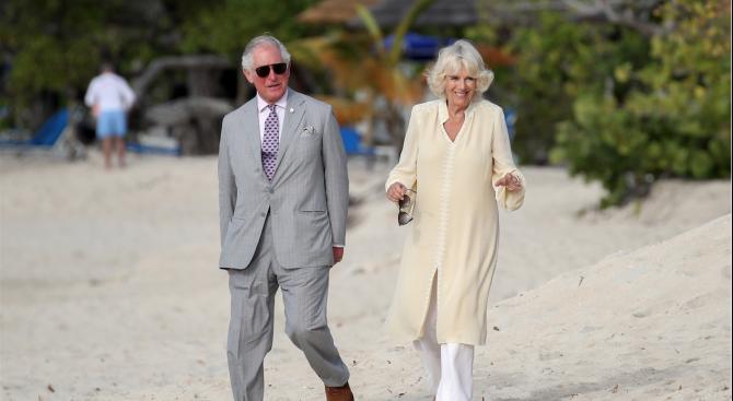 Британският престолонаследник принц Чарлз и съпругата му Камила пристигат днес