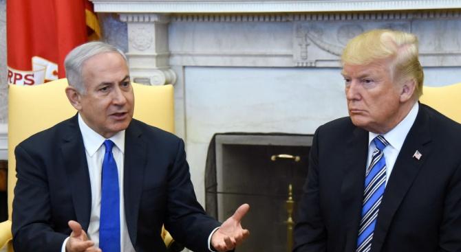 Нетаняху ще обсъди с ТръмпГоланските възвишения,Сирия и Иран