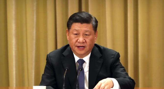 Китайският президент Си Цзинпин пристигна днес по обед на държавно