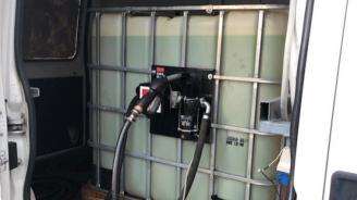 Иззеха 500 литра дизелово гориво без документи от монтанско село