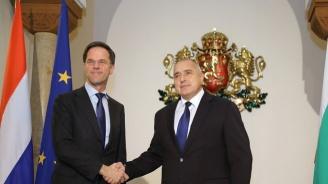 Бойко Борисов изпрати телеграма до премиера на Нидерландия