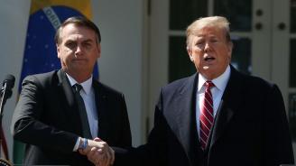 Тръмп: Разглеждаме сериозно възможността Бразилияда стане член на НАТО или на друг съюз