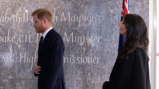 Принц Хари и Меган Маркъл отдадоха почит на жертвите на атакатав Крайстчърч