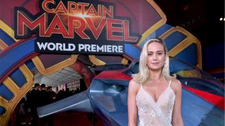"""""""Капитан Марвел"""" продължава да е най-гледаният филм у нас"""