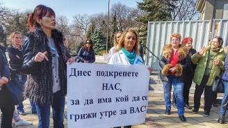 Медицинските сестри отново на протест, не вярват на обещанията на Ананиев