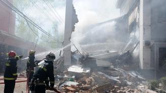 Силна експлозия  разтърси химически завод  в Китай