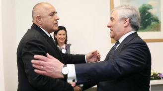 """Борисов разговаря с Таяни във връзка с пакета """"Мобилност"""""""