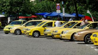 Започна шествието на таксиметровите шофьори