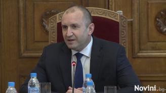 Румен Радев: Честността на изборите трябва да се отстоява на всеки вот