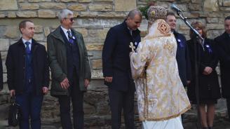 Великотърновският митрополит Григорий благодари на Цветан Цветанов
