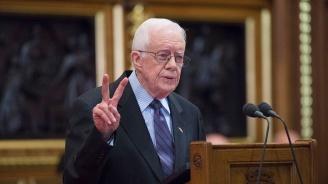 Джими Картър стананай-възрастният бивш американскипрезидент