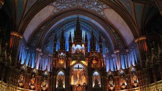 Католически свещеник беше ранен с нож на литургия в Монреал