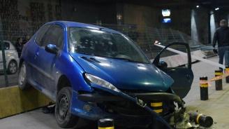 Шофьорка блъсна мъж в подлеза на НДК