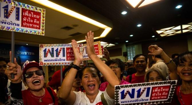 Хаос възникна в Тайланд с резултатите от първите парламентарни избори