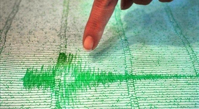 Земетресение с магнитуд 4,5 по Рихтер бе регистрирано днес в