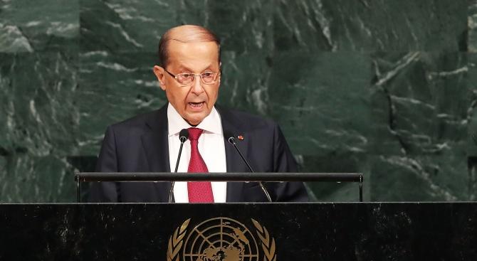 Ливанският президент към ЕС: Очаквайте нова бежанска вълна от Сирия