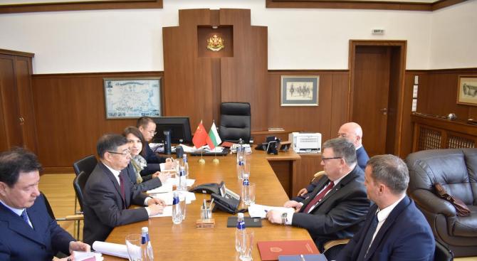 Главният прокурор на Република България Сотир Цацаров прие делегация от