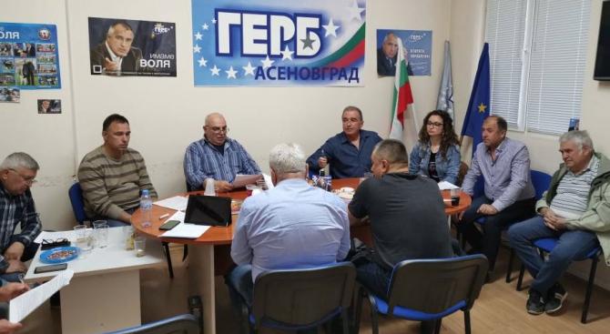 Народният представител от ГЕРБ – Пловдив област д-р Христо Грудев