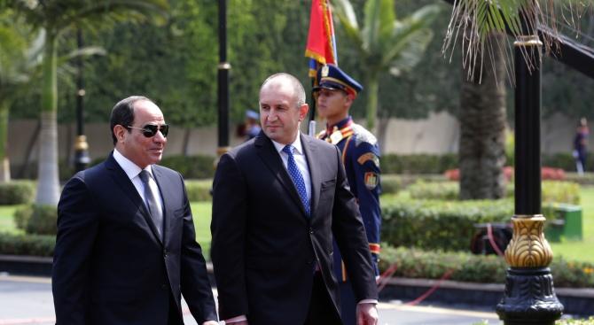 България и Египет са в близост до регион, обхванат от