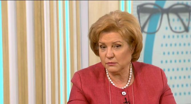 Снимка: Менда Стоянова: Оставката на Цветанов е морален акт, без да има никакви доказателства за вина