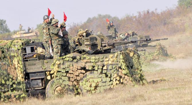 Над 400 военнослужещи от Сухопътните войски ще участват в полево лагерно обучение