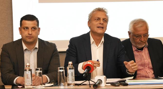 Петър Москов представи новата си партия