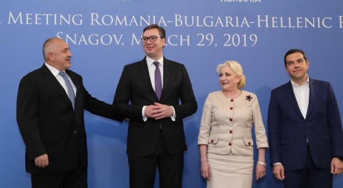 Поздравления за усилията на Румъния. Свързаността междуБелград - София -
