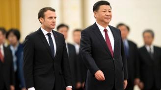 Президентите на Франция и Китай се срещнаха на Лазурния бряг