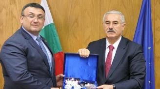 Младен Маринов проведе среща с главния прокурор на Турция Акарджа