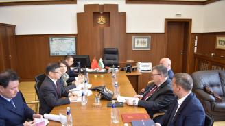 Главният прокурор Сотир Цацаров прие китайска делегация