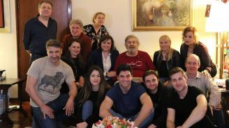 Нинова и Йончева поздравиха Стефан Данаилов по случай Международнияден на театъра