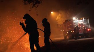 Голям горски пожар бушува в Северозападна Испания