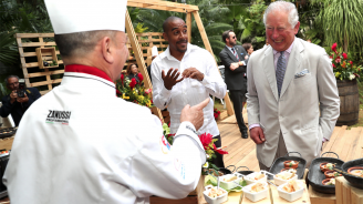Принц Чарлз остана очарован от кубинската кухня