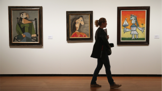 Рядка рисунка на Пикасо беше продадена на търг за 286 хиляди евро