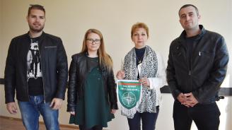 ГЕРБ-Видин подкрепи ученически волейболен отбор