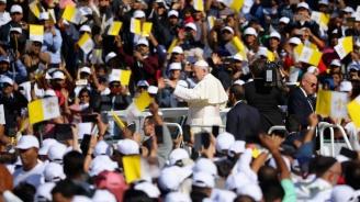 Мюсюлмански студенти разговаряха с папата за толерантността