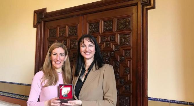 Министърът на туризма Николина Ангелкова проведе работна среща с Елена