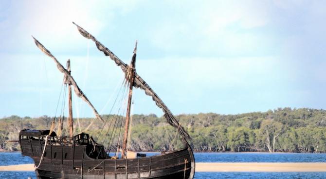 Останки от кораб от 16-и век бяха открити случайно в