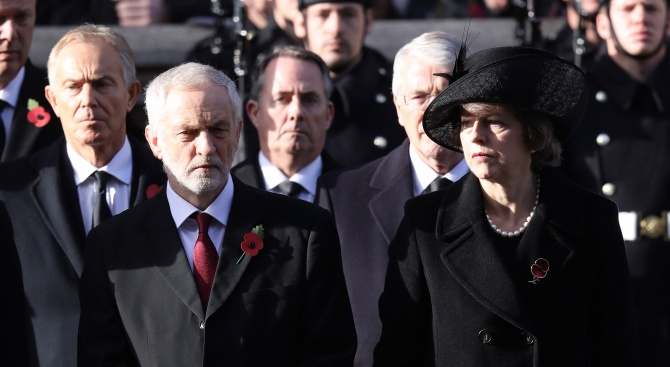 """Влиятелният германски всекидневник """"Велт"""" днес хвали британския премиер Тереза Мей"""