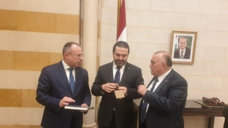 Румен Порожанов се срещна с премиера на Ливан