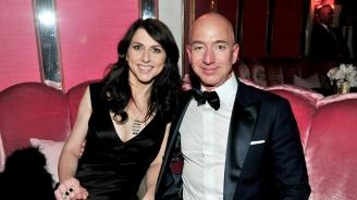 """Бившата съпруга на Джеф Безос взима 25% от акциите в """"Амазон"""""""