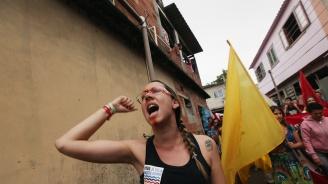 Протести и чествания в Бразилия на годишнината от влизането на Лула в затвора