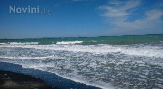 Петна от мазут се появиха в морето край Варна